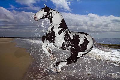 Beach Mixed Media - The Rite to Freedom by Betsy Knapp