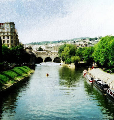 Photograph - The River Avon by Marilyn Wilson