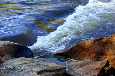 Art Print featuring the photograph The River by Debra Crank