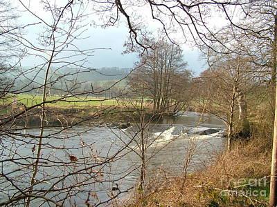 Photograph - The River Esk At Egton Banks by Doug Thwaites