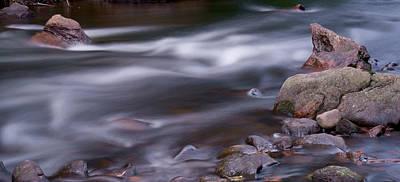 The River Flows 3 Art Print