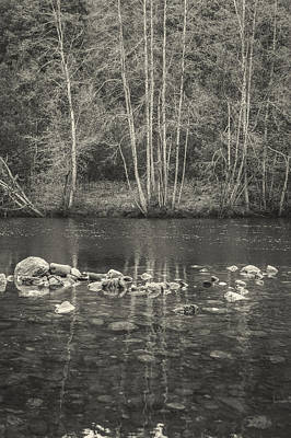 Landscape. Mountain Trees Water Bush Photograph - The River II by Marco Oliveira