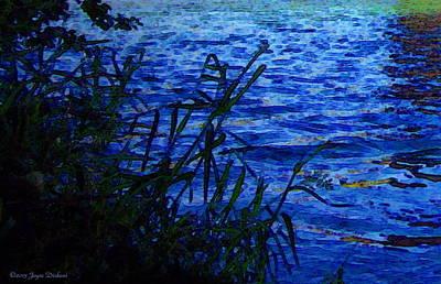 Friendly Digital Art - The River by Joyce Dickens