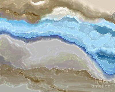Art Print featuring the digital art The River by Lena Wilhite
