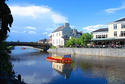 Photograph - The River Nore by Charlie and Norma Brock