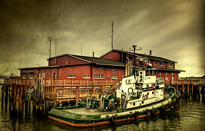 Gallery Website Photograph - The River Bar Pilot Station by Thom Zehrfeld