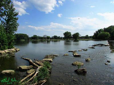 The River Raisin Original by Michael Rucker