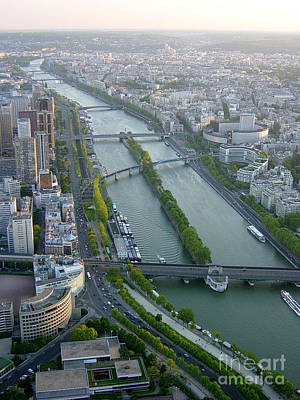 Photograph - The River Seine by Deborah Smolinske