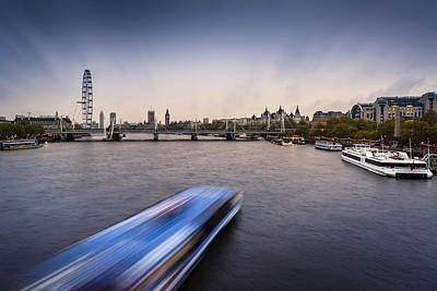 Photograph - The River Thames by Alfio Finocchiaro