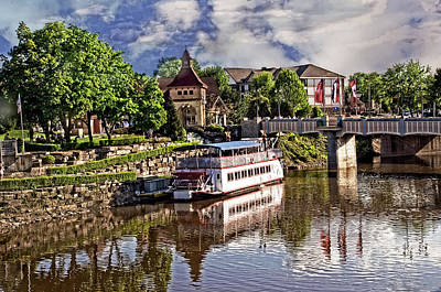 Michigan Frankenmuth Photograph - The Riverboat by Cheryl Cencich