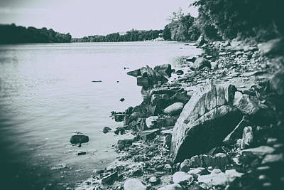 Housatonic River Photograph - The Rivers Edge by Karol Livote
