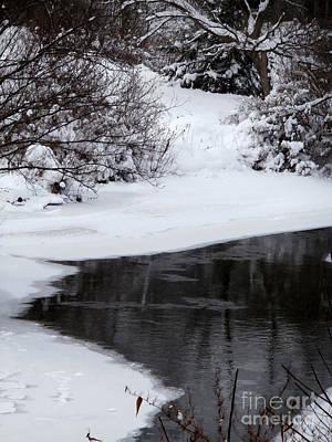 Photograph - The River's Edge by Steven Valkenberg