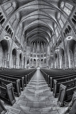 Photograph - The Riverside Church II by Clarence Holmes