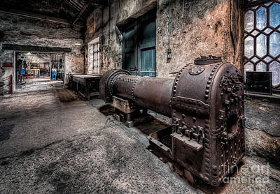 Blacksmith Photograph - The Riveted Boiler by Adrian Evans