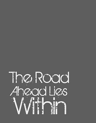 Graduation Digital Art - The Road Ahead by Brandon Addis