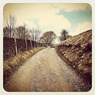 Pathway Photograph - The Road Ahead #derwentvalley #pathway by Rob Harris
