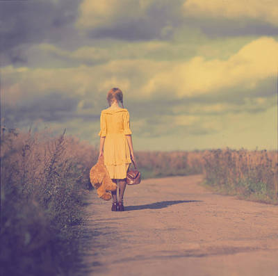 Travel Photograph - The Road by Anka Zhuravleva