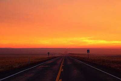 Art Print featuring the photograph The Road Goes On And On by Lynn Hopwood