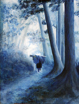 Painting - The Road Home by Donna Walsh