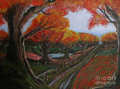 Painting - The Road Home by Pheonix Creations