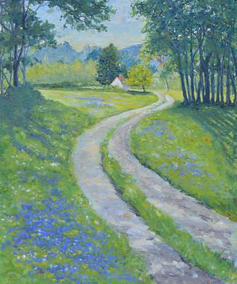 The Road Home II Art Print by Betty McGlamery