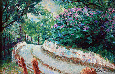 Painting - The Road In Sibley Park by Bonnie Follett