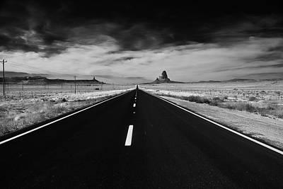 B Photograph - The Road Less Traveled by Louis Dallara