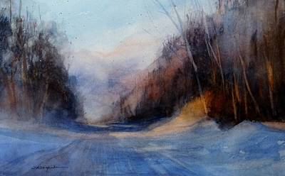 The Road Less Traveled Original by Sandra Strohschein