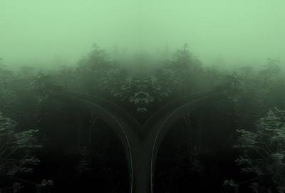 The Road Not Taken Art Print by Dan Sproul