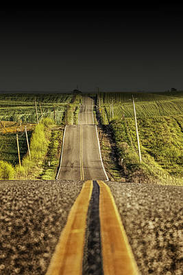 Photograph - The Road Rolls On by PhotoWorks By Don Hoekwater