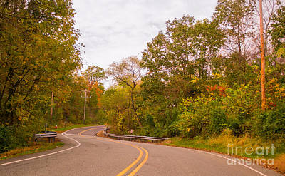 Photograph - The Road To Autumn by Rima Biswas