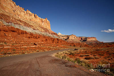 Photograph - The Road To Capitol Reef by Butch Lombardi
