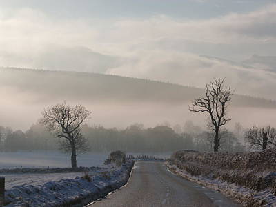 Scottish Photograph - The Road To Finzean by Jennifer Watson