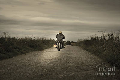 Ambition Photograph - The Road To Freedom by Wolf Kettler