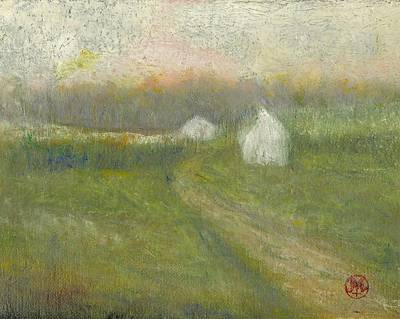 Painting - The Road To Jesse James Farm by Joe Leahy