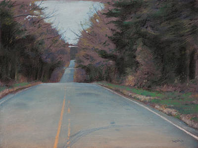 Pastel - The Road To Nowhere by Christopher Reid