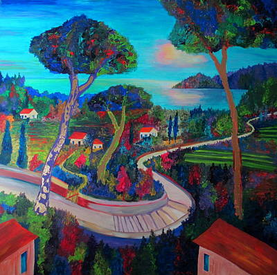 Painting - The Road To Recovery by Randall Weidner