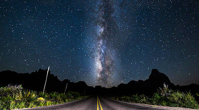 Photograph - The Road To The Chisos by Chris Multop