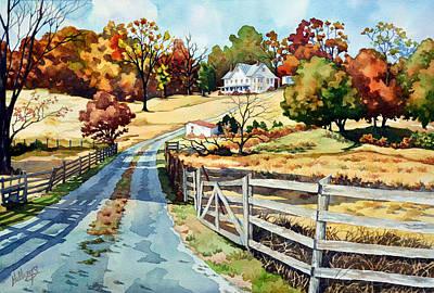 The Road To The Horse Farm Original