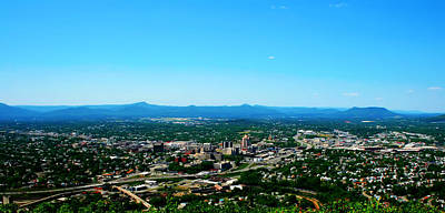 Photograph - The Roanoke Valley by Kara  Stewart