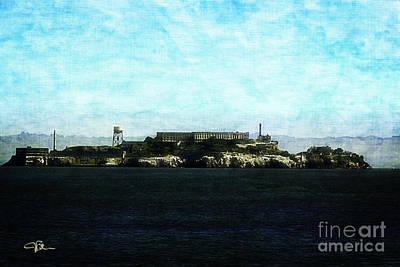 Alcatraz Painting - The Rock Alcatraz Island 4 Of 4 by Jani Bryson