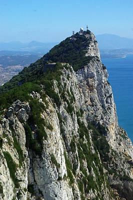 Pillars Of Hercules Photograph - The Rock Of Gibraltar 2 by Iain MacVinish