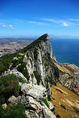 Pillars Of Hercules Photograph - The Rock Of Gibraltar by Iain MacVinish
