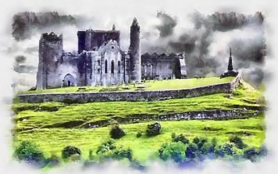 Rock Of Cashel Painting - The Rock by Patrick OHare
