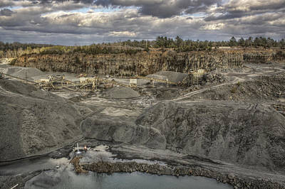 Photograph - The Rock Quarry by Jason Politte