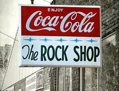 The Rock Shop Art Print by Pete Trenholm