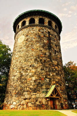 Photograph - The Rockford Tower by Trina  Ansel