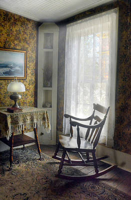Photograph - The Rocking Chair by Ken Smith