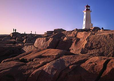 The Rocks At Peggy's Cove Art Print