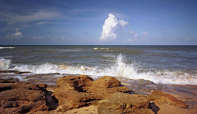 Photograph - The Rocks V. Flagler County. by Chris  Kusik